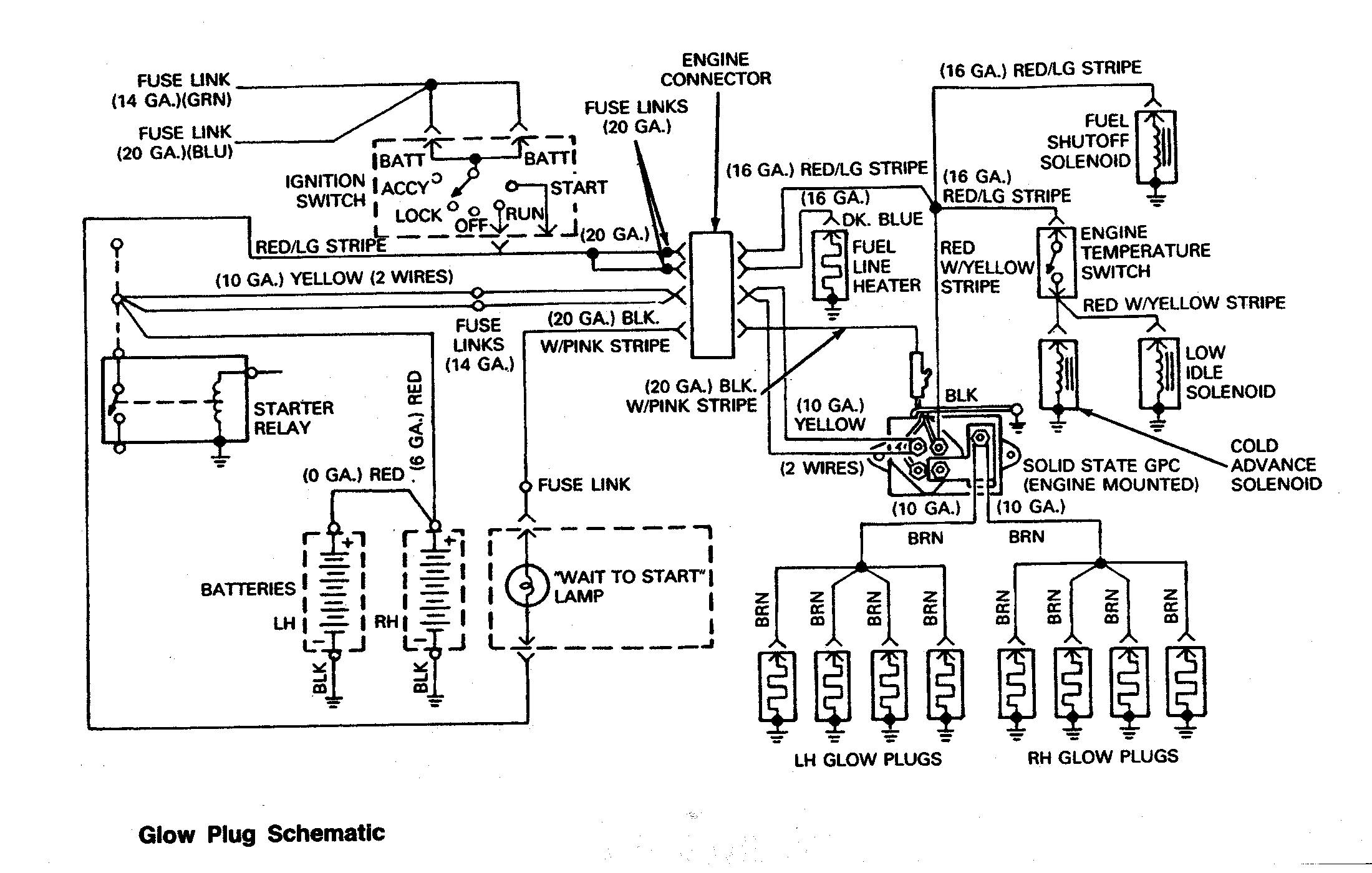 engine and jet drive electrical and diesel engine wiring harness schematic